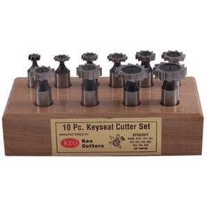 Woodruff Keyseat Cutter Set