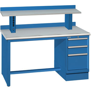 60 X30 3 Drawer 8 Compartments Laminate Top Workbench W Power Riser Fastenal