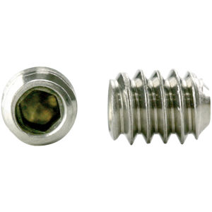 Ships Free in USA by Aspen Fasteners 300pcs BRASS 1//4-20 X 3//4 Cup Point Socket Set Screws