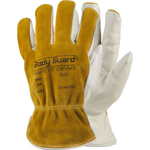 Leather Palm and Driver Cut Resistant Glove