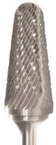 "Blackstone 5//8/"" x 1-1//4/"" 1//4/"" Shank Dia SL-5 Taper Single Cut Carbide Burr"