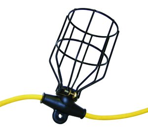 100 12/3 SJTW Power Phase Job-Site 10 Lamp String Light With Metal Cage Guard Fastenal