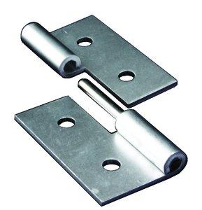 40s Aluminum Left Hand Economy Lift Off Hinge W Long Pin