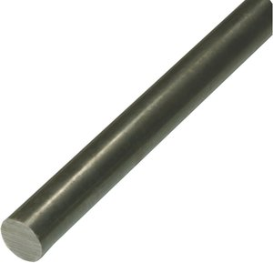 """11//16/"""" Diameter 1018 Cold Finished Steel Round Bar x 48/"""" Long"""