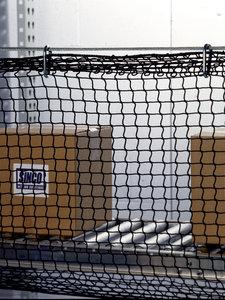 130 black 3ftx50ft dbi sala conveyor guard netting for Dbi sala colombia