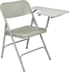 Outstanding Nps Gray Premium Steel Folding Chair W Light Gray Left Pdpeps Interior Chair Design Pdpepsorg