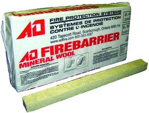2 w x 4 d 96 per bag mineral wool fastenal for Mineral wool firestop