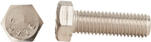 38 16 X 1 14 Astm F593 18 8 Stainless Steel Hex Cap Screw Fastenal